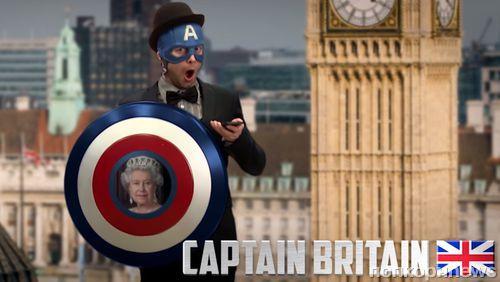 Видео: как выглядел бы Капитан Америка «по-европейски»