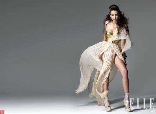 Джессика Альба в журнале Elle. Корея. Июнь 2010