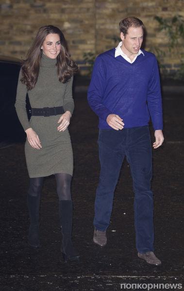 Принц Уильям и Кейт Миддлтон посетили приют для бездомных