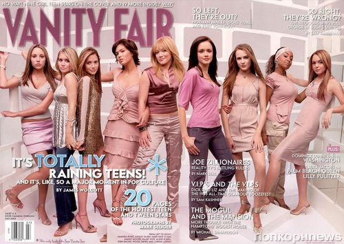 Проект Vanity Fair: юные звезды 10 лет назад и сейчас