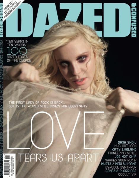Кортни Лав в журнале Dazed & Confused. Январь 2010