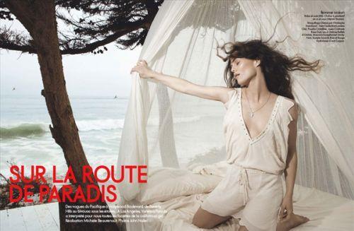 Ванесса Паради в журнале Elle