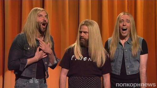 Зак Галифианакис на шоу Saturday Night Live