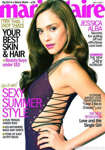 Джессика Альба в журнале Marie Claire. Июнь 2012