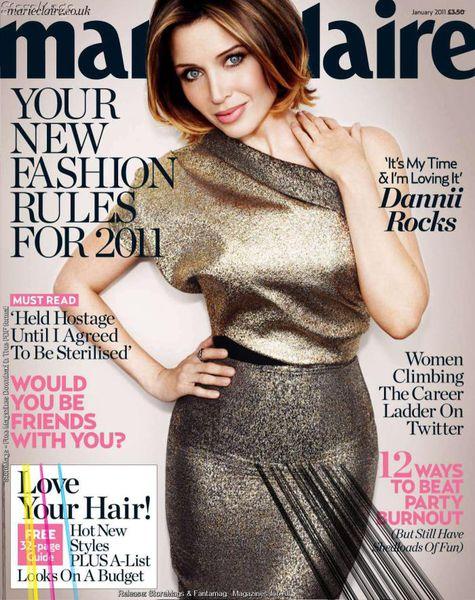 Даннии Миноуг в журнале Marie Claire UK. Январь 2011