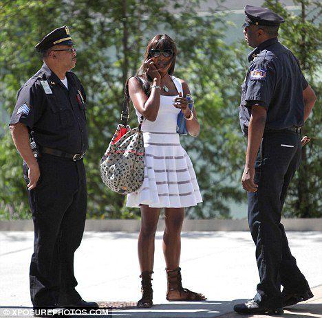 У Наоми Кэмпбелл появились телохранители