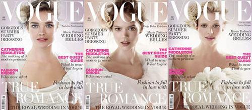 Свадебный майский номер Vogue UK