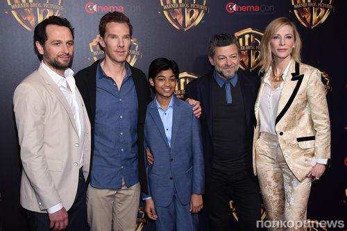 Бенедикт Камбербэтч и Кейт Бланшетт представили «Маугли» в Лас-Вегасе