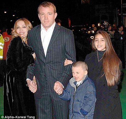 Мадонна и Гай Ричи проведут Рождество вместе