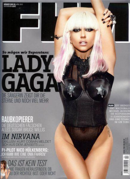 Lady Gaga в журнале FHM Германия. Апрель 2010