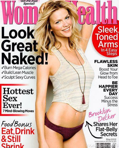 Бруклин Декер в журнале Women's Health. Май 2012