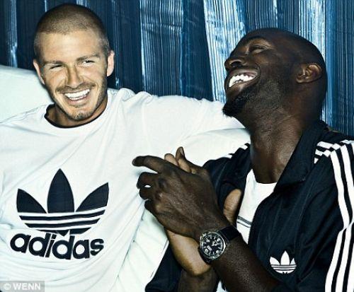 Дэвид Бэкхем в рекламе Adidas