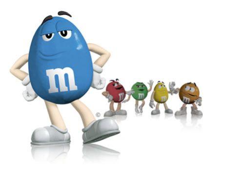 Интересные штучки: новый голубой M&M