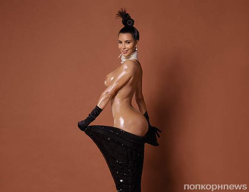 Ким Кардашян полностью обнажилась для журнала Paper: новые подробности и кадры скандальной фотосессии