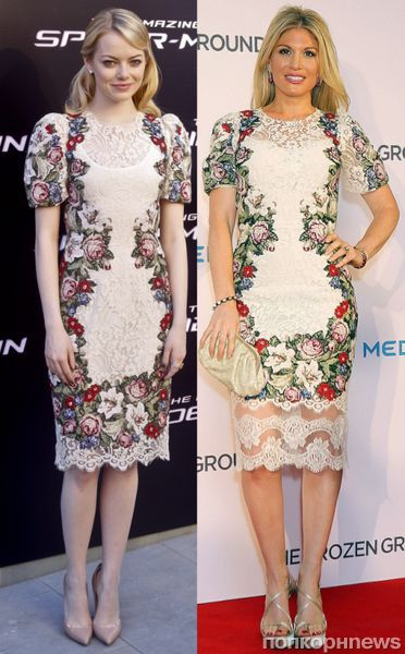 Fashion battle: Эмма Стоун и Хофит Голан