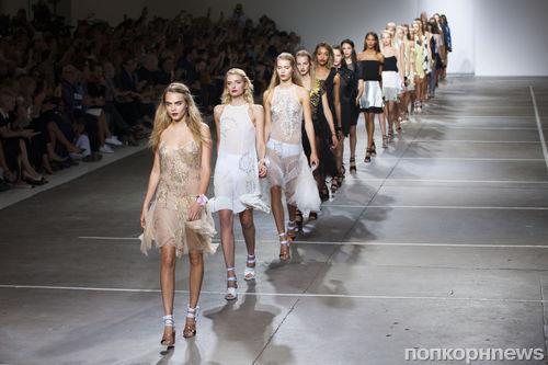 Модный показ новой коллекции Topshop Unique в Лондоне