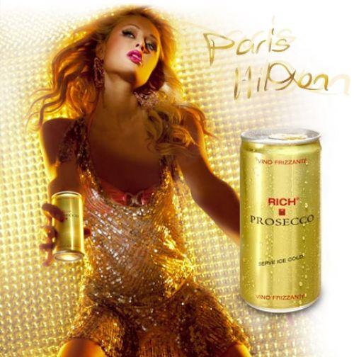 Реклама шампанского с Пэрис Хилтон провалилась