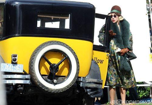 Фото: беременная Леди Гага на съемках «Американской истории ужасов»