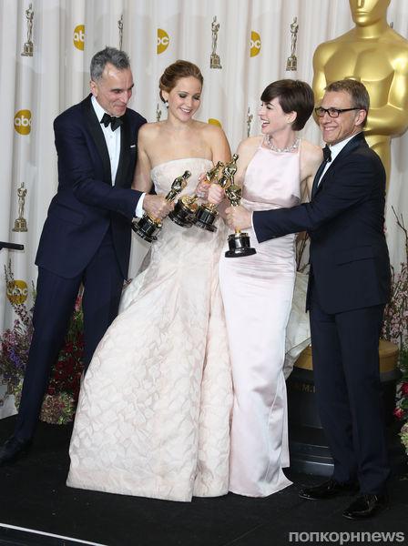 Звезды на церемонии «Оскар» 2013