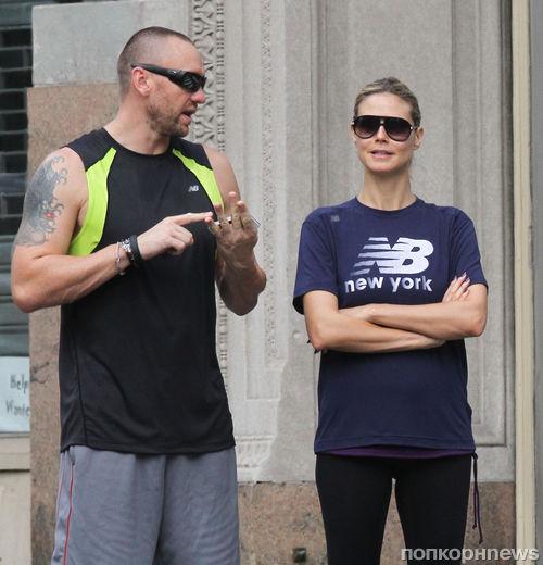 Хайди Клум встречается с телохранителем?