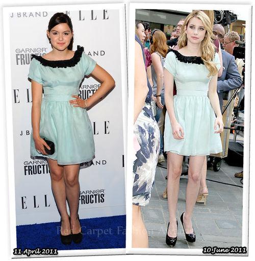 Fashion Battle: Ариель Уинтер и Эмма Робертс