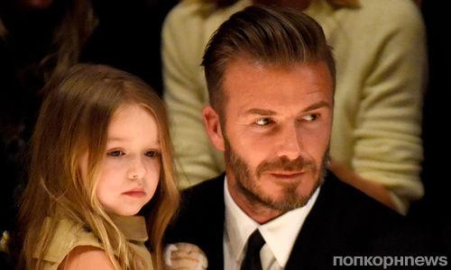 Дэвид и Виктория Бекхэм отдали 5-летнюю дочь в театральную школу