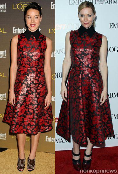 Fashion battle: Обри Плаза и Лесли Манн