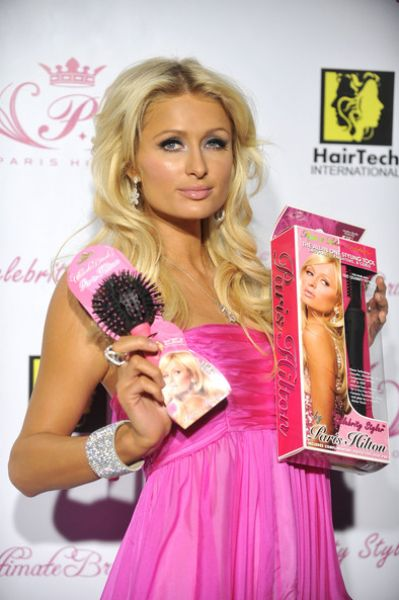 Пэрис Хилтон представила свою продукцию для волос