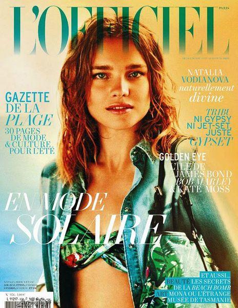 Наталья Водянова в журнале L'Officiel. Июнь-июль 2011