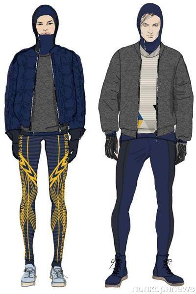 H&M разработали одежду для олимпийской шведской команды