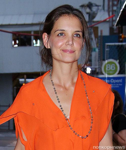Кэти Холмс готовится к Неделе моды в Нью-Йорке
