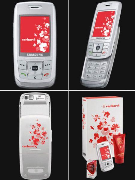 Интересные штучки: мобильный телефон E250 Cacharel