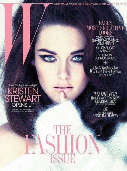 Кристен Стюарт в журнале W. Сентябрь 2011