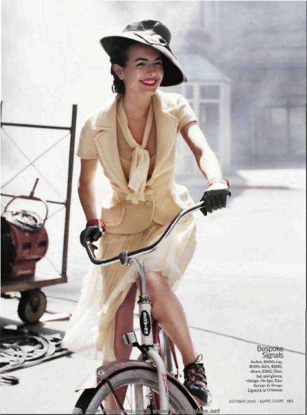 Камилла Белль в журнале Marie Claire. Октябрь 2009