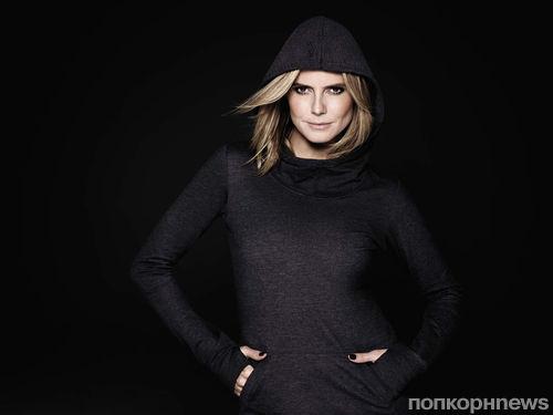 Хайди Клум в рекламной кампании своей коллекции New Balance