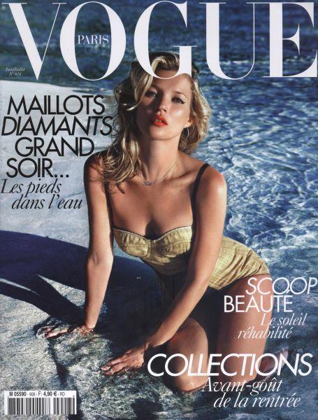 Кейт Мосс в журнале Vogue. Франция. Июнь 2010
