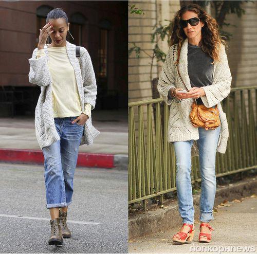 Fashion Battle: Зои Салдана и Сара Джессика Паркер