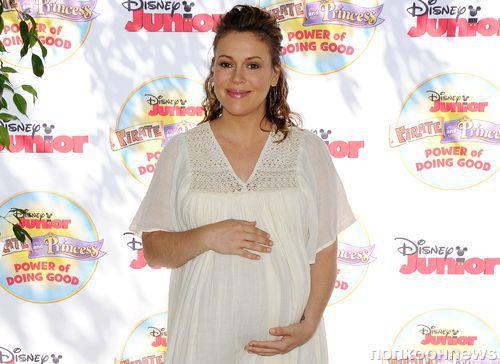 Алисса Милано родила дочь