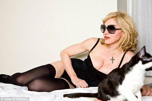 Мадонна в рекламе Dolce&Gabanna