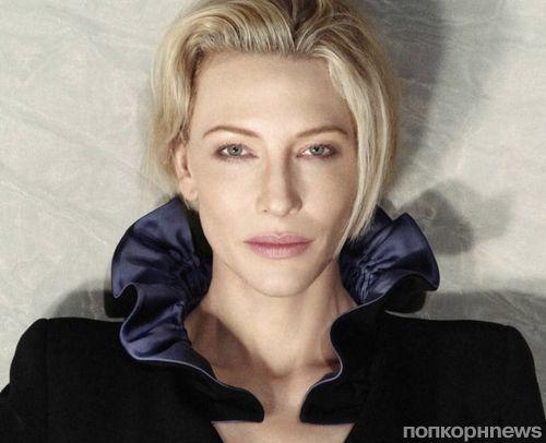 Кейт Бланшетт в фотосессии для ноябрьского номера Madame Figaro