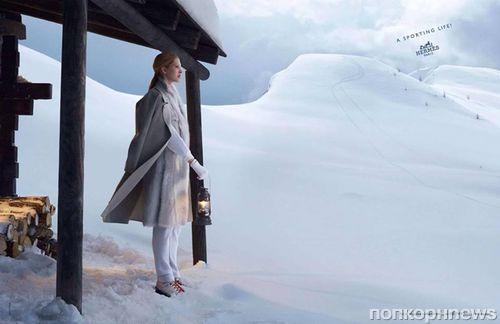 Рекламная кампания Hermès. Зима 2014