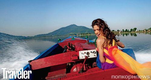 Фрида Пинто в журнале  Conde Nast Traveler. Сентябрь 2013