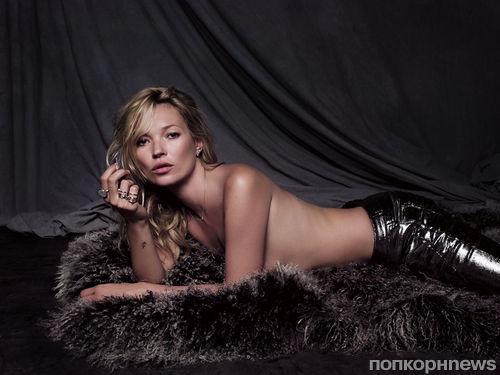 Кейт Мосс в рекламной кампании своей ювелирной коллекции