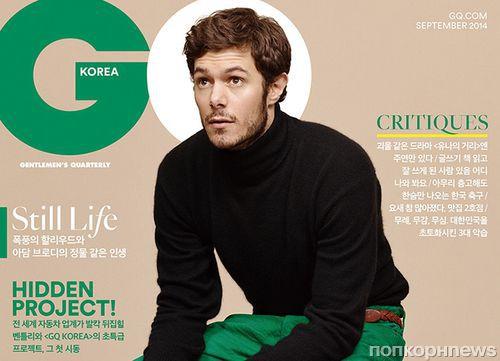 Адам Броуди в журнале GQ. Корея. Сентябрь 2014