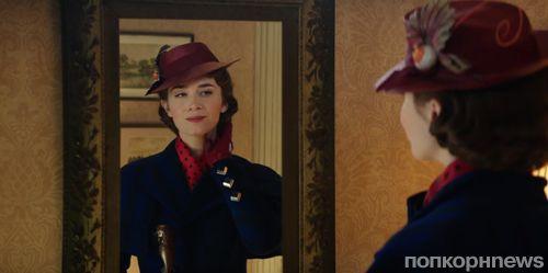 Эмили Блант в дебютном тизер-трейлере «Мэри Поппинс возвращается»