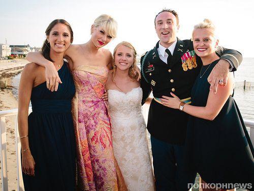 Тейлор Свифт спела на свадьбе фанатов