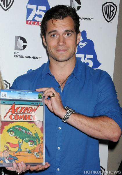 Звезды на вечеринке Superman Comic-Con Party