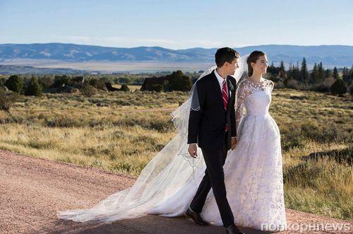 Звезда сериала «Девчонки» Эллисон Уильямс показала первое свадебное фото