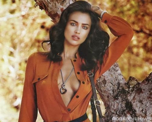 Ирина Шейк в журнале Vogue Испания. Ноябрь 2013