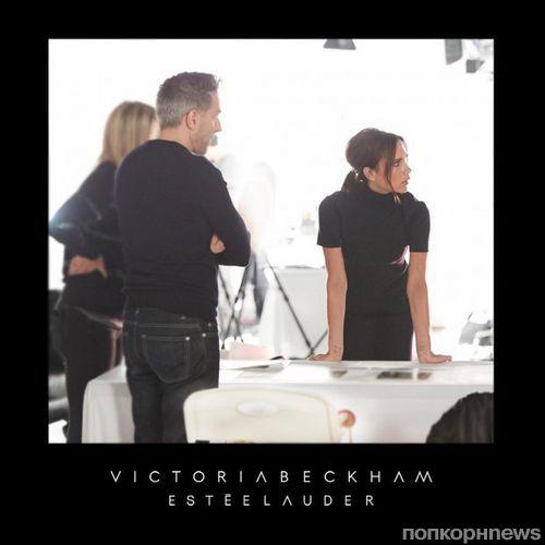 Виктория Бекхэм запускает коллекцию декоративной косметики совместно с Estee Lauder